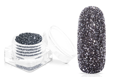 Jolifin Glitterpuder - dark grey