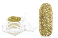 Jolifin Glitterpuder - golden star