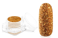 Jolifin Glitterpuder - luxury copper