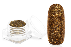 Jolifin Glitterpuder - luxury brown