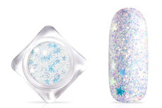 Jolifin Shooting Star Glitter - crystal clear