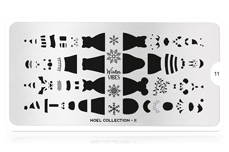 MoYou-London Schablone Noel Collection 11