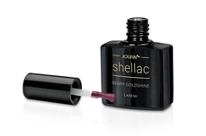 Jolifin LAVENI Shellac - berry goldshine 12ml