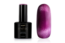 Jolifin LAVENI Shellac - Cat-Eye 9D berry & rose 12ml