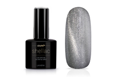 Jolifin LAVENI Shellac - Cat-Eye 9D silver & grey 12ml