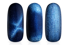 Jolifin LAVENI Shellac - Cat-Eye 9D blue & ocean 12ml