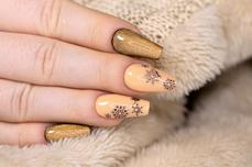 Jolifin LAVENI Shellac - Cat-Eye 9D gold & amber 12ml