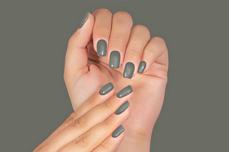 Jolifin LAVENI Shellac PeelOff - green-grey 12ml