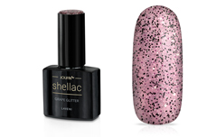 Jolifin LAVENI Shellac - grape Glitter 12ml
