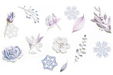 Jolifin LAVENI 3D Tattoo - Christmas Nr. 3