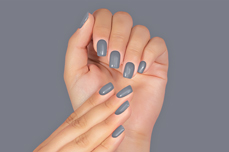 Jolifin LAVENI Shellac PeelOff - grey stone 12ml