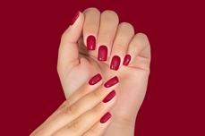 Jolifin LAVENI Shellac PeelOff - dark cranberry 12ml