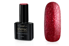 Jolifin LAVENI Shellac - sparkle raspberry 12ml