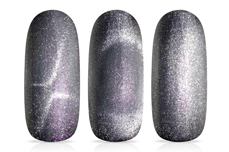Jolifin LAVENI Shellac - Cat-Eye 9D aurora pink 12ml