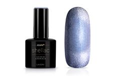 Jolifin LAVENI Shellac - Cat-Eye 9D aurora blue 12ml