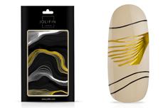 Jolifin LAVENI XL Sticker - black & white Nr. 6