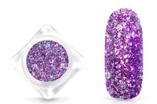 Jolifin Glittermix Flakes - purple-rosy