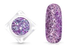 Jolifin Glittermix Flakes - lavender-rosy