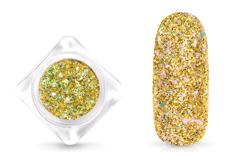 Jolifin Glittermix Flakes - champagne-rosy