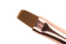 Jolifin Gel-Pinsel rosy-black - flat Gr. 6