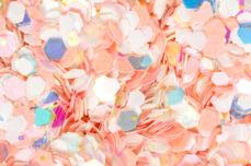 Jolifin Candy Glitter - mango sorbet