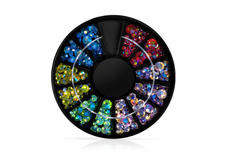 Jolifin LAVENI Strass-Display - Rainbow Mix