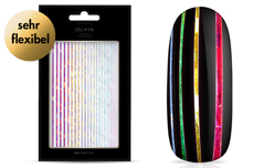Jolifin LAVENI XL Sticker - Stripes rainbow
