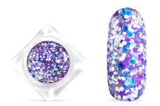 Jolifin Candy Glitter - purple berry