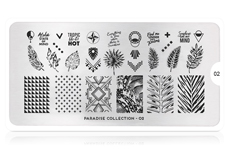 MoYou-London Schablone Paradise Collecion 02