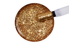 Jolifin LAVENI Shellac - golden Glitter 12ml