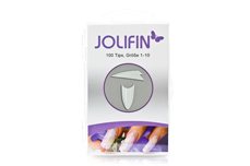 Jolifin 100er Tipbox Stiletto clear