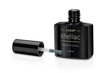 Jolifin LAVENI Shellac - creamy petrol 12ml