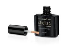 Jolifin LAVENI Shellac - shiny caramel 12ml