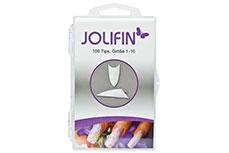 Jolifin 100er Tipbox Stiletto french-white