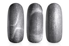 Jolifin LAVENI Shellac - Cat-Eye silver diamond  12ml