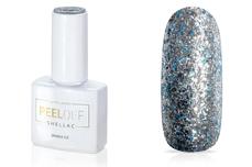 Jolifin LAVENI Shellac PeelOff - sparkle ice 12ml