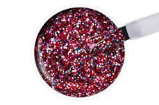 Jolifin LAVENI Shellac PeelOff - red confetti 12ml