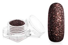 Jolifin Glitterpuder - chestnut brown