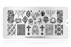 MoYou-London Schablone Halloween Collection 12