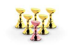 Jolifin Nailart Tiphalter - XL rosé-gold