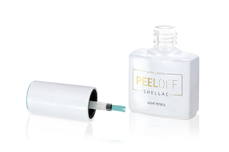 Jolifin LAVENI Shellac PeelOff - light petrol 12ml