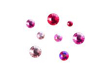 Jolifin LAVENI Strass-Display - red-pink
