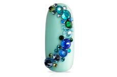 Jolifin LAVENI Strass-Display - blue-green