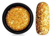 Jolifin LAVENI Sparkle Glitter - bollywood gold