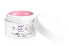 Jolifin Studioline Refill - Thixotrop Aufbau-Gel milky rosé 15ml