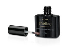 Jolifin LAVENI Shellac - translucent brown shine 12ml