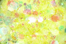 Jolifin LAVENI Pastell Glittermix - yellow