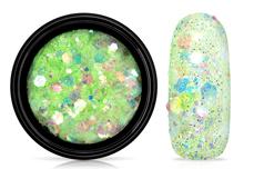 Jolifin LAVENI Pastell Glittermix - green