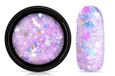 Jolifin LAVENI Pastell Glittermix - violet