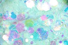 Jolifin LAVENI Pastell Glittermix - türkis
